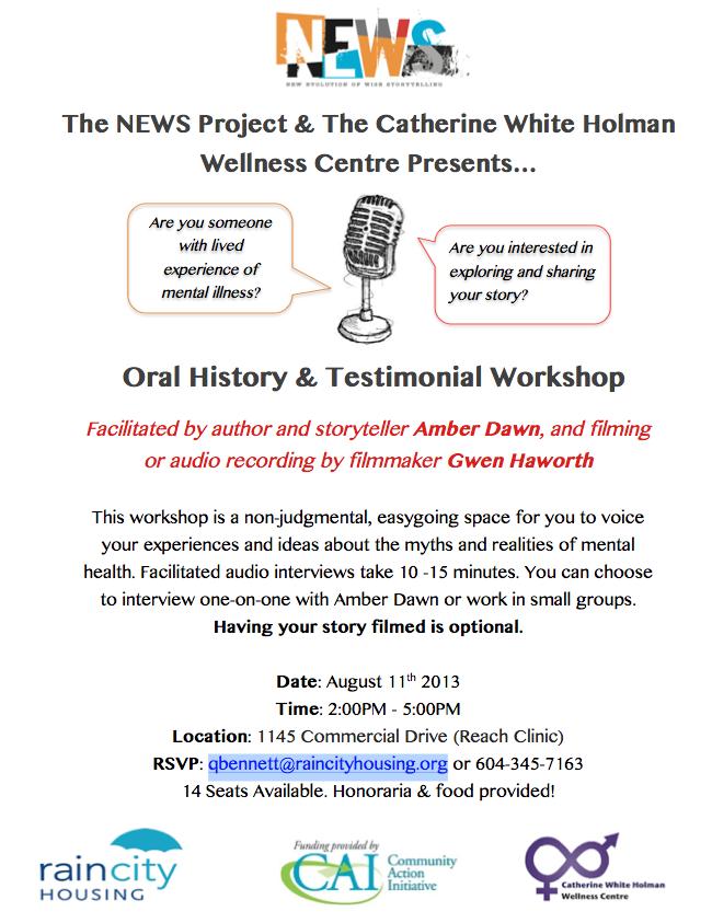 Oral History Workshop